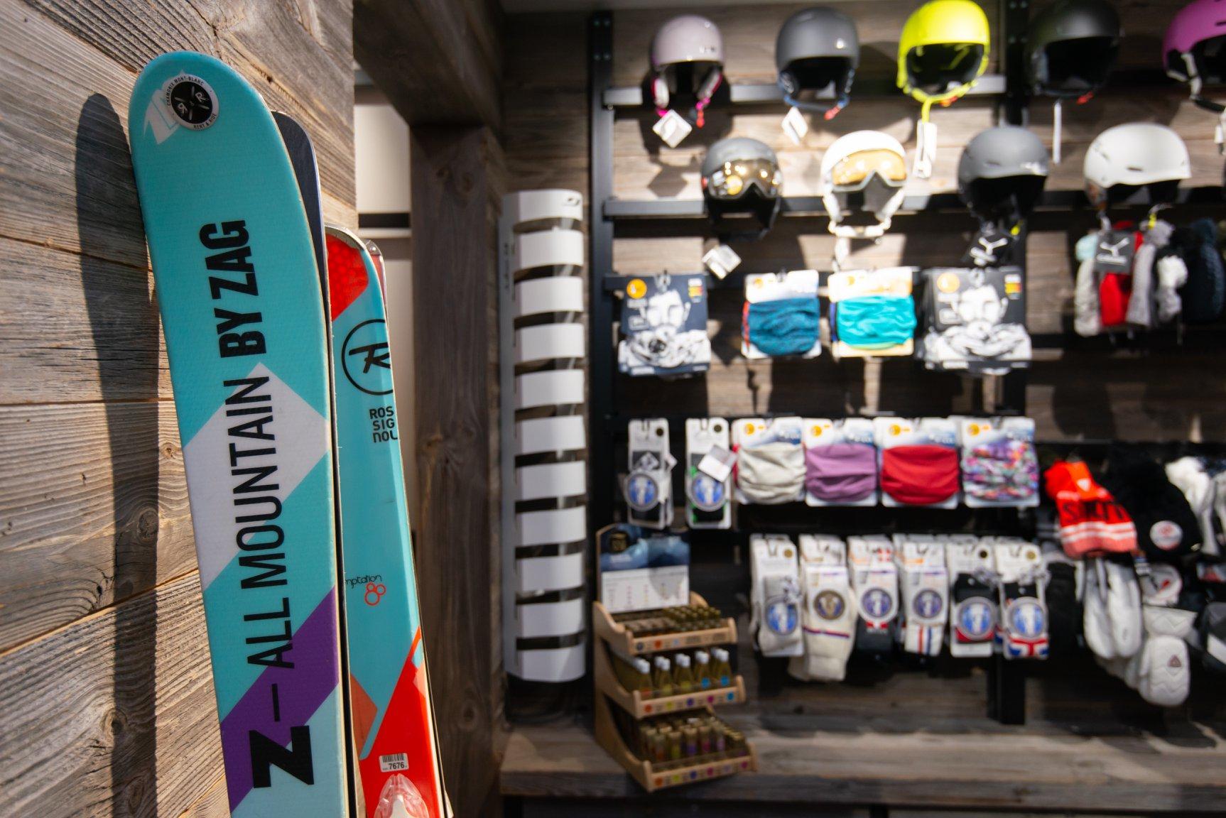 Chamonix magasin ski centre ville
